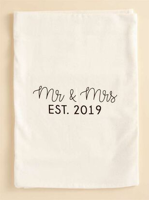 Mr. & Ms. EST. 2019 Hand Towel - Altar'd State