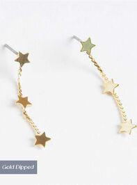 Shooting Stars Dangle Earrings - Altar'd State