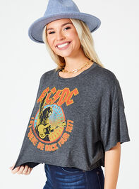 AC/DC Cropped Tee Detail 2 - Altar'd State