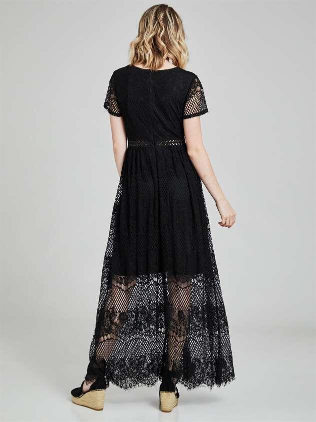 Ellington Maxi Dress Detail 4 - Altar'd State