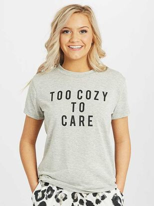 Too Cozy to Care Lounge Top - Altar'd State