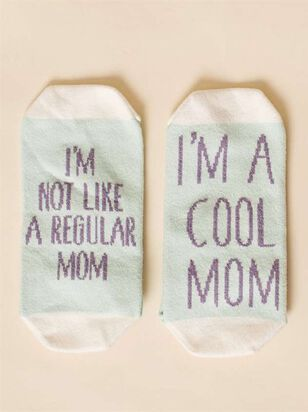 I'm a Cool Mom No-Show Socks - Altar'd State