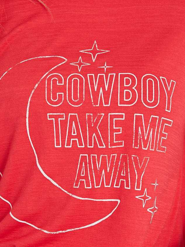Cowboy Take Me Away Top Detail 4 - Altar'd State
