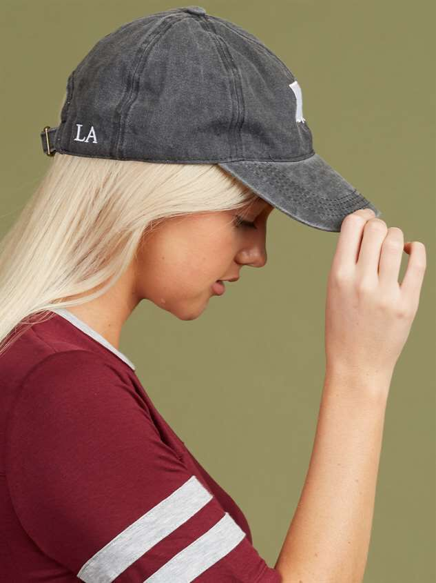 Our Home Canvas Baseball Hat - Louisiana Detail 3 - Altar'd State