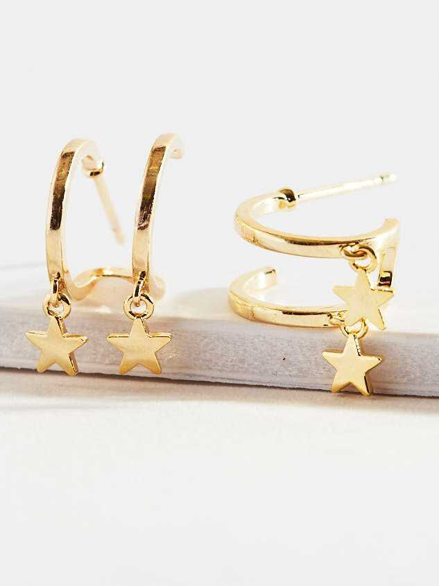 Chasing Stars Earrings - Altar'd State