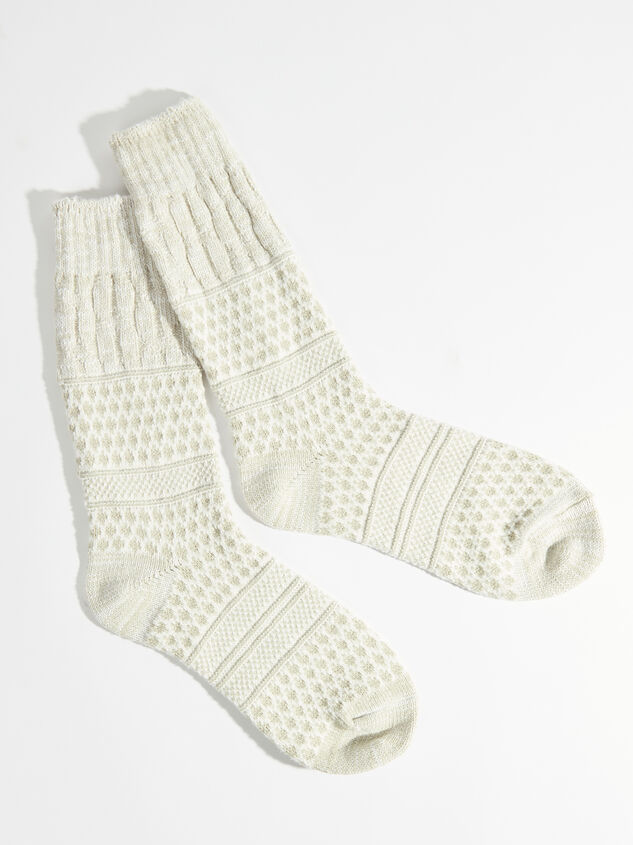 Gallery Cozy Crew Sock - Altar'd State