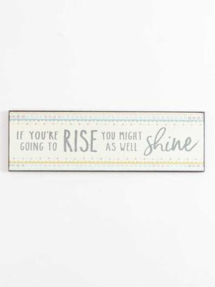 Rise and Shine Wall Art - Altar'd State