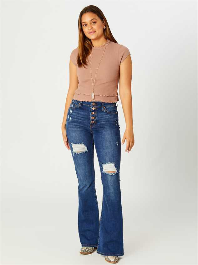 Elliana Flare Jeans - Altar'd State