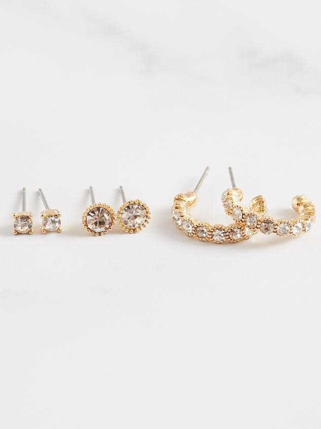 Twinkle Earring Set - Altar'd State
