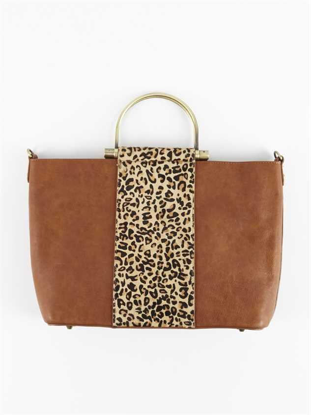 Lula Leopard Handbag Detail 2 - Altar'd State