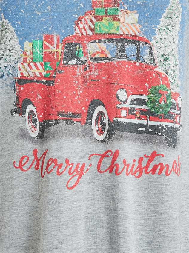 Merry Christmas Truck Top Detail 5 - Altar'd State