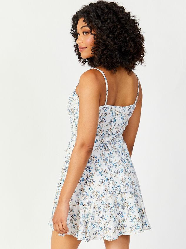 Lovely Moments Dress - Blue Detail 2 - Altar'd State