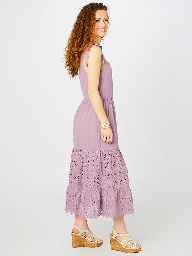 Penelope Midi Dress Detail 2 - Altar'd State