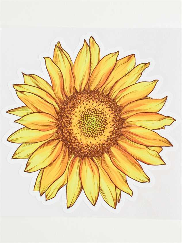 Large Sunflower Sticker - Altar'd State