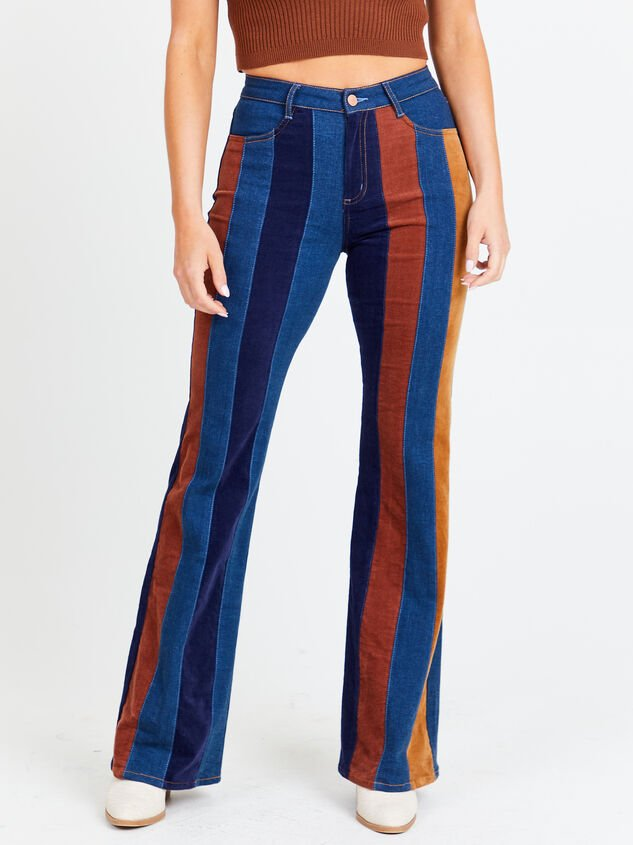 Suede Flare Jeans - Altar'd State