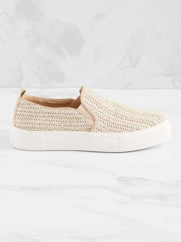 Dacey Slip-On Sneakers Detail 4 - Altar'd State