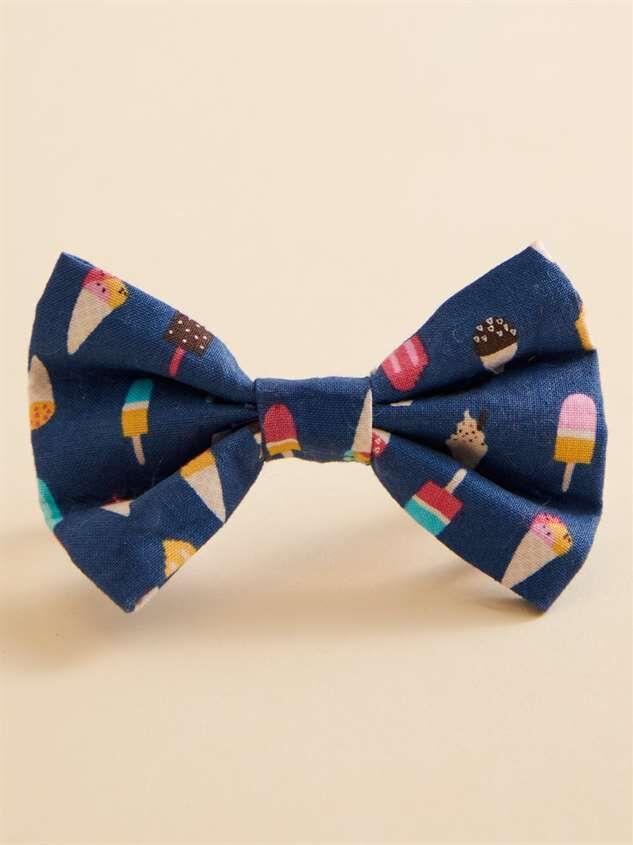 Bear & Ollie's Ice Cream Dog Collar Bow Tie - Altar'd State