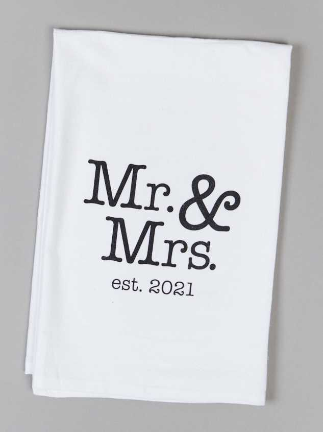 Mr. and Mrs.Towel - Altar'd State