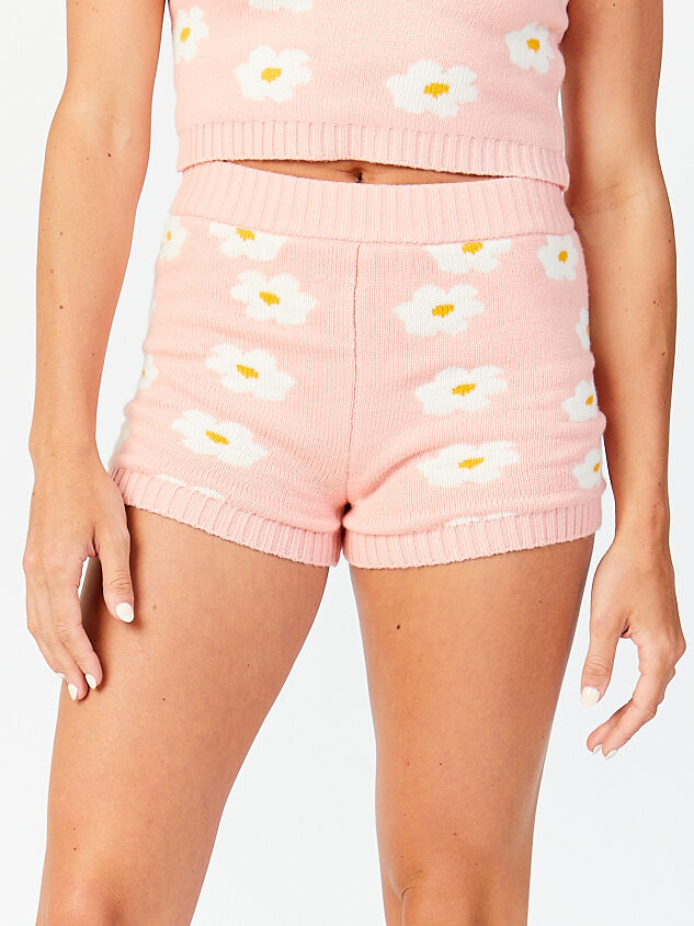 Daisy Sweater Lounge Shorts - Altar'd State
