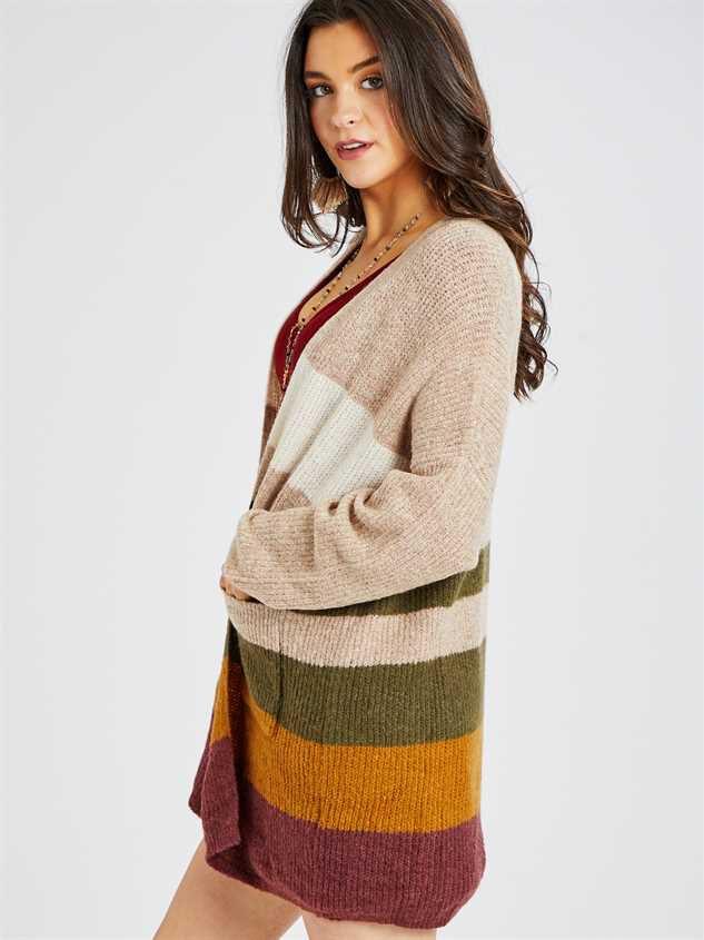 Bennett Cardigan Sweater Detail 2 - Altar'd State