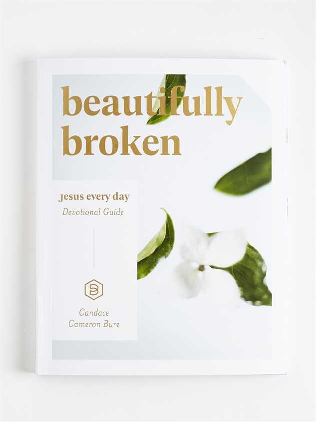 Beautifully Broken Devotional Guide Detail 1 - Altar'd State