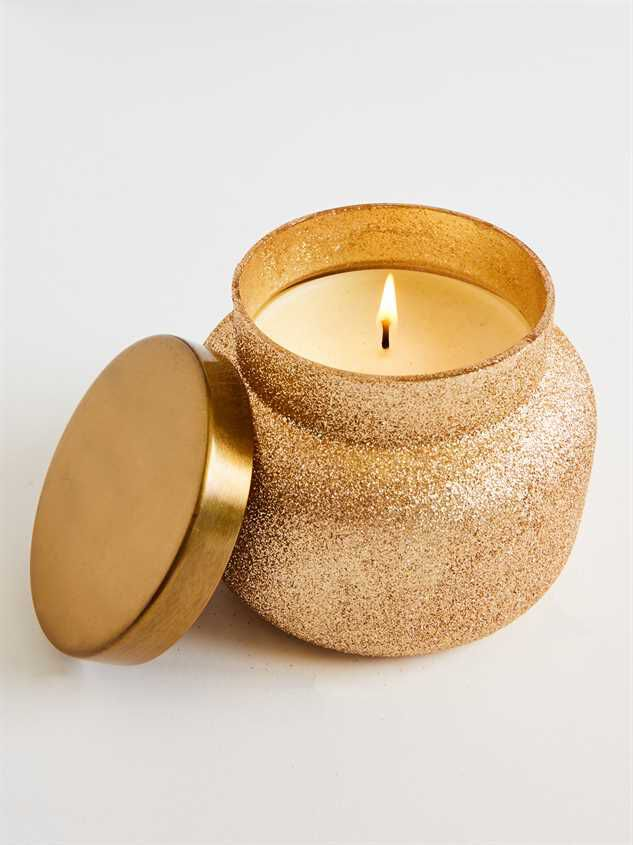 Volcano Gold Glam Candle   Altar'd State