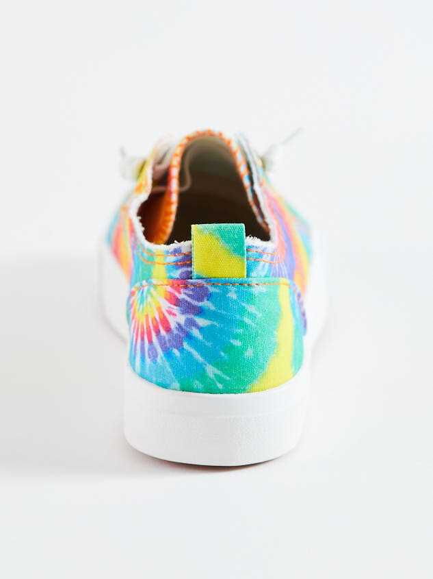 Ian Tie Dye Sneakers Detail 4 - Altar'd State