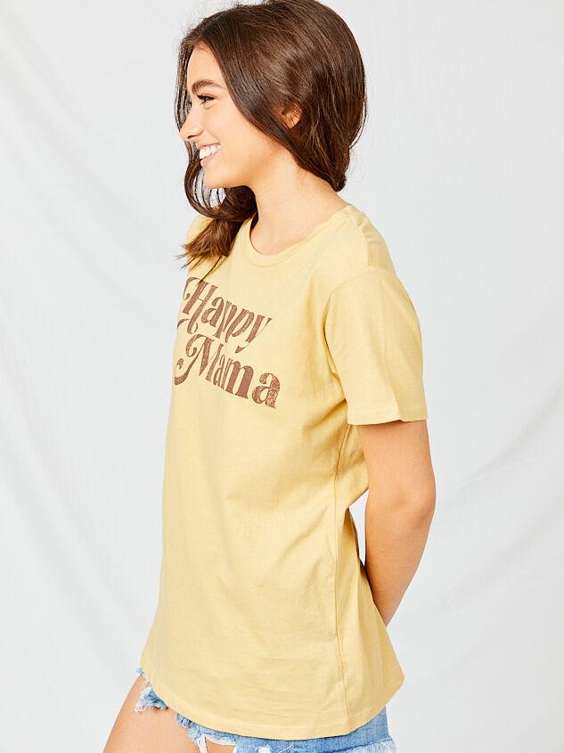 Happy Mama Boyfriend Tee Detail 2 - Altar'd State