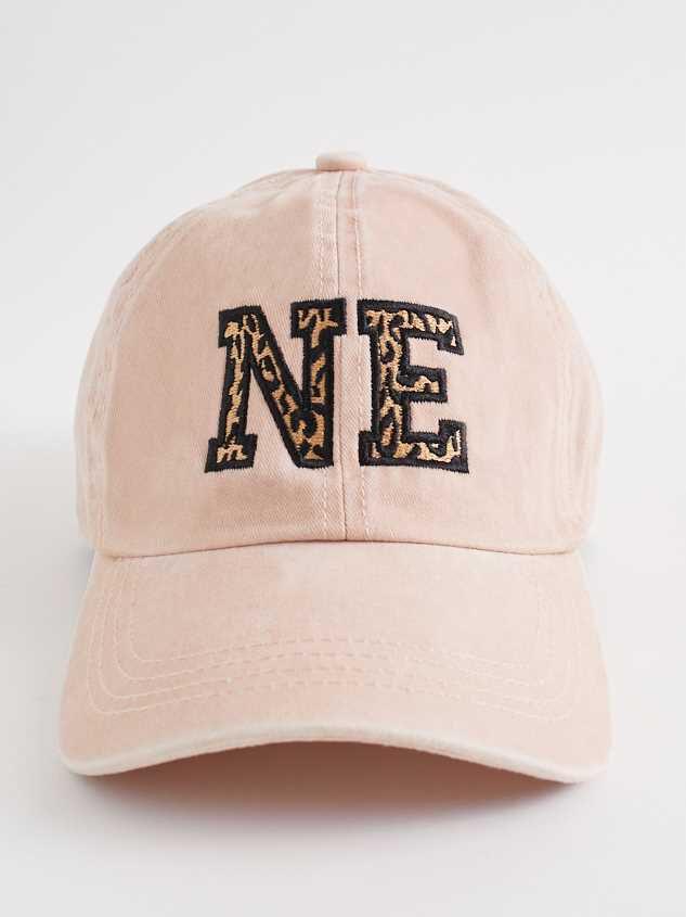Nebraska Leopard Baseball Hat - Altar'd State