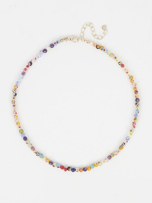 Picasso Beaded Necklace - Altar'd State