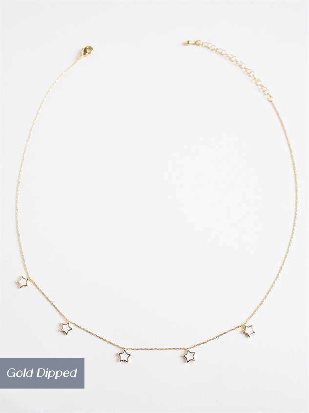 Shine Bright Like the Stars Necklace - Altar'd State