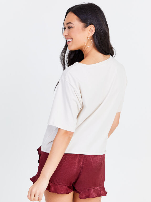 Wild & Free Cropped Tee Detail 3 - Altar'd State