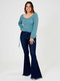 Tennley Flare Jeans Detail 2 - Altar'd State