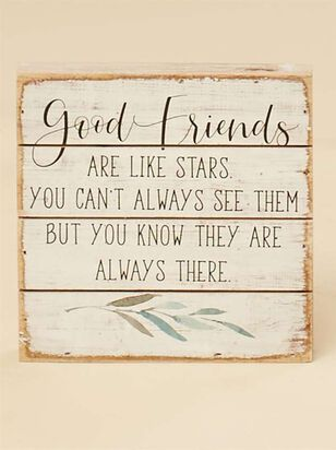 Friends are Stars Pallet Sign - Altar'd State