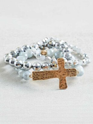 Cross My Heart Bracelets - Altar'd State