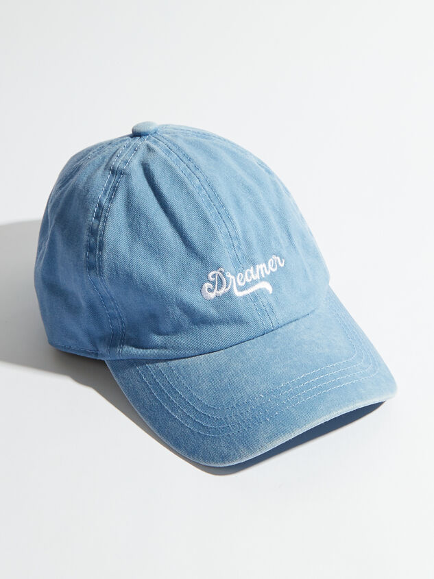 Dreamer Baseball Hat Detail 1 - Altar'd State