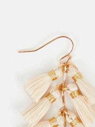 Cascading Tassel Earrings - Altar'd State