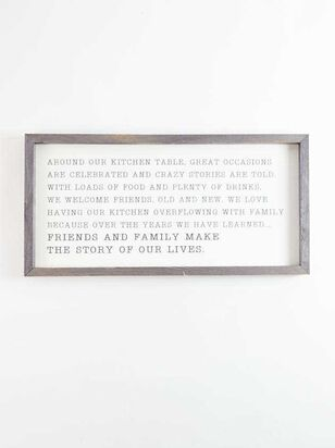 Story of Our Lives Wall Art - Altar'd State