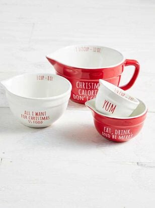 Christmas Calories Don't Count Measuring Cup Set - Altar'd State
