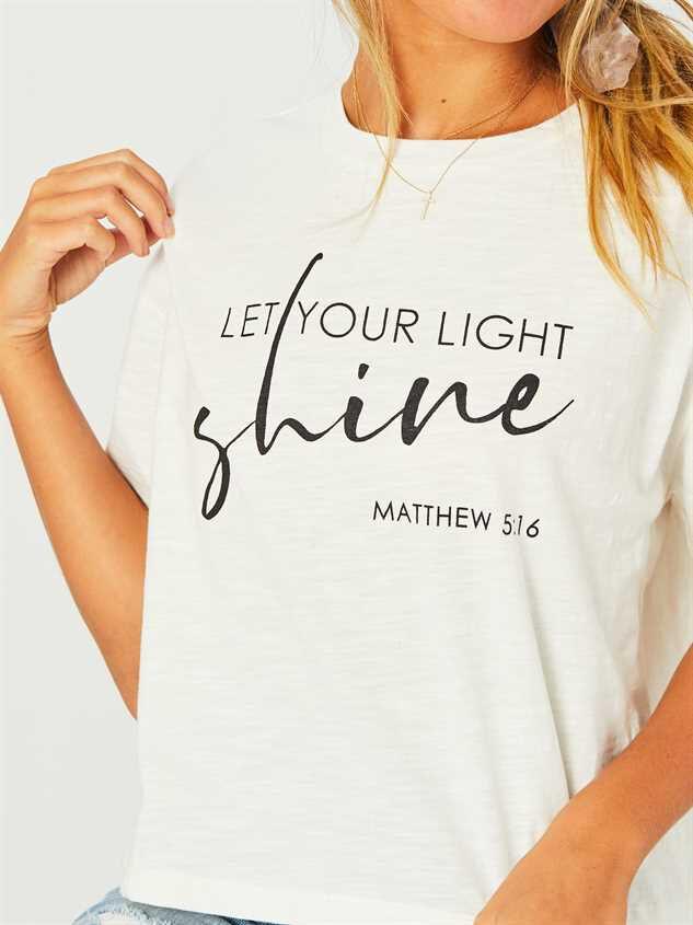 Let Your Light Shine Top Detail 4 - Altar'd State