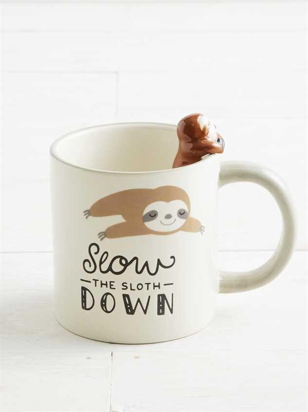 Slow the Sloth Down Mug - Altar'd State