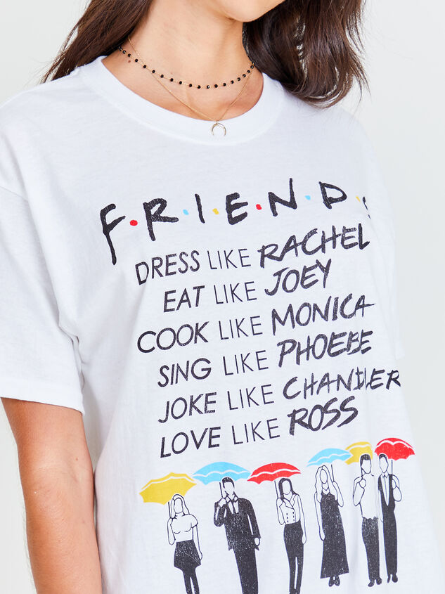 Friends Oversized Tee Detail 4 - Altar'd State