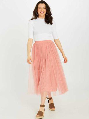 Metropolitan Midi Skirt - Altar'd State