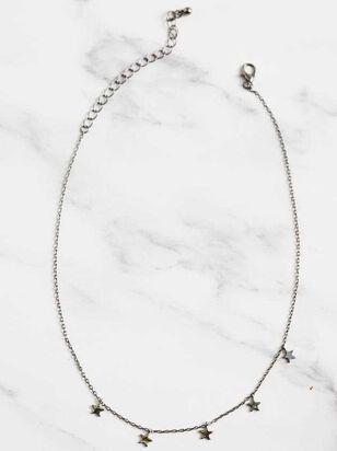 Star Dangles Necklace - Hematite - Altar'd State