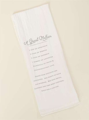 Great Mother Recipe Hand Towel - Altar'd State