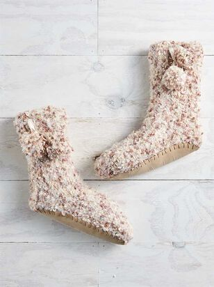 Marled Bootie Slippers - Altar'd State