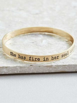 Fire in Her Soul Bracelet - Altar'd State