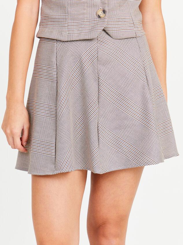Eve Plaid Skirt Detail 2 - Altar'd State