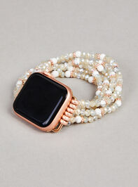 Natural Stone Beaded Smart Watch Band - Altar'd State