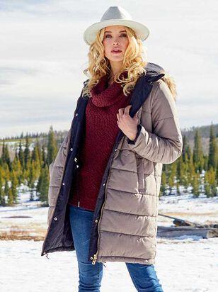 Alpine Reversible Puffer Coat